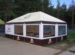 Брендирование палаток